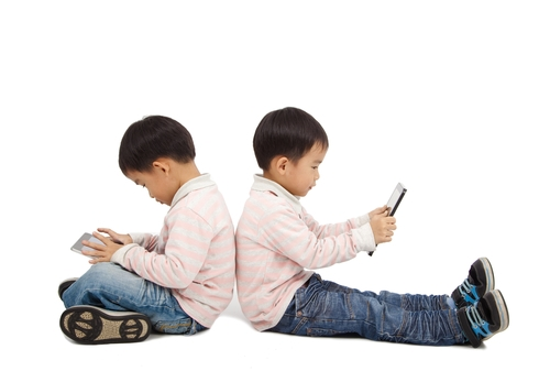 Sixty-eight percent of parents of 2-year-olds reported that their toddler uses a tablet, while 52 percent said they were concerned that technology use has a negative impact on their conversations with their child.