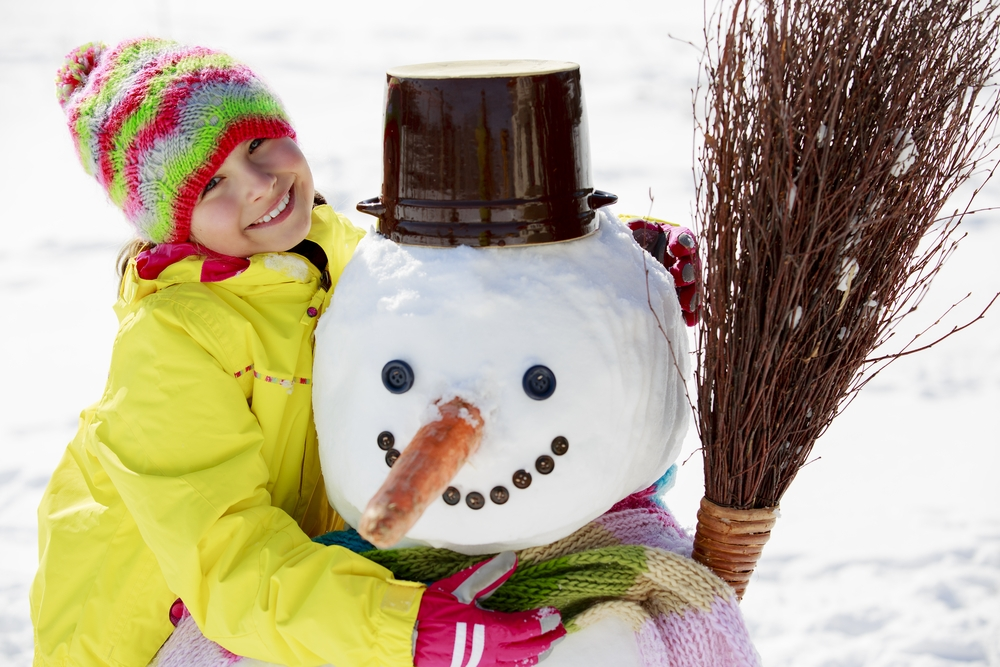 In the first part of a four-part series, we suggest for you to begin making cotton-ball snowmen in your classroom!